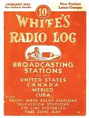 Whites Radio Log